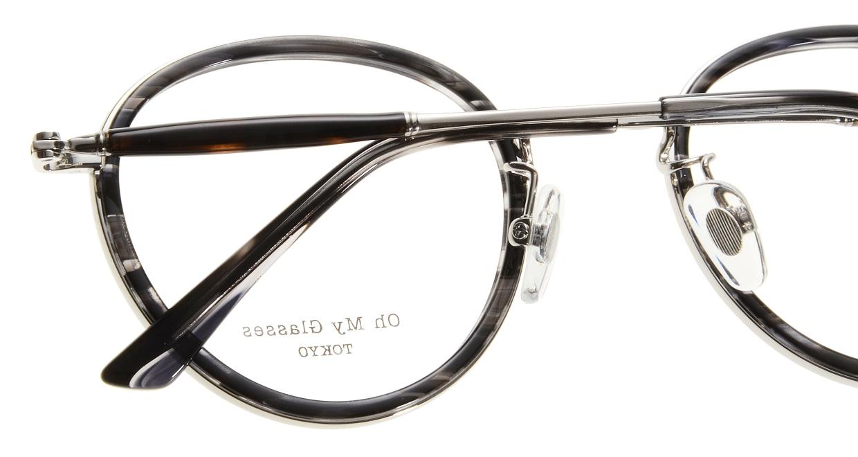 Oh My Glasses TOKYO Spencer omg-094-5-48 [鯖江産/丸メガネ/グレー]  4