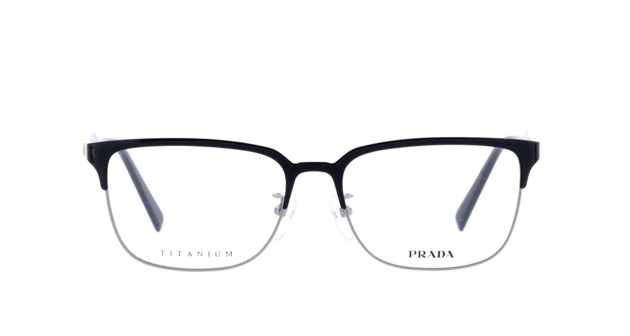 プラダ PR56TVD-1AB101-55 [メタル/鯖江産/ウェリントン]