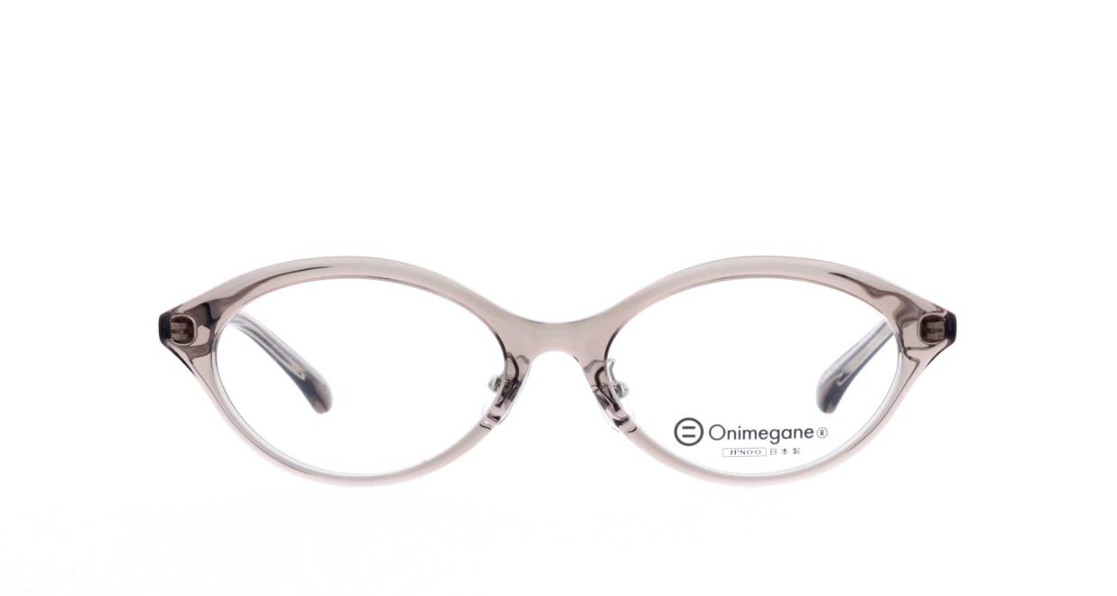オニメガネ OG7815-GY-53 [鯖江産/オーバル/グレー]