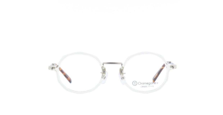 オニメガネ OG7102-CL-46 [鯖江産/丸メガネ/透明]