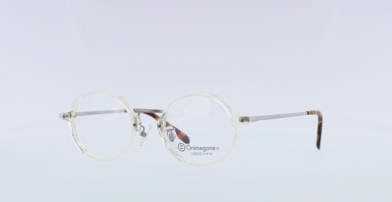 オニメガネ OG7102-CL-46 [鯖江産/丸メガネ/透明]  1
