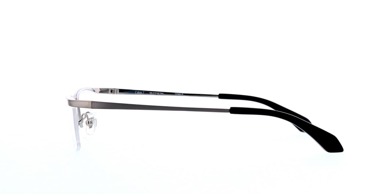 ドゥアン DUN-116-17 [メタル/鯖江産/ハーフリム/スクエア/シルバー]  2