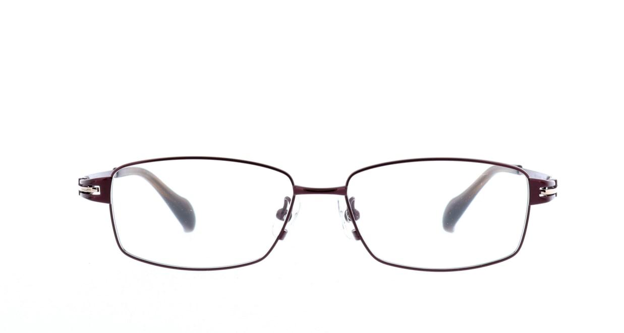 グロック GR1965-6 [メタル/鯖江産/スクエア/茶色]