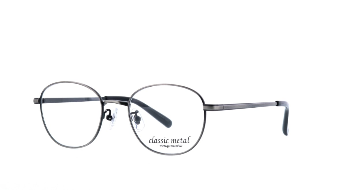 クラシックメタル CM-002-2-49 [メタル/ウェリントン/安い/グレー]  1