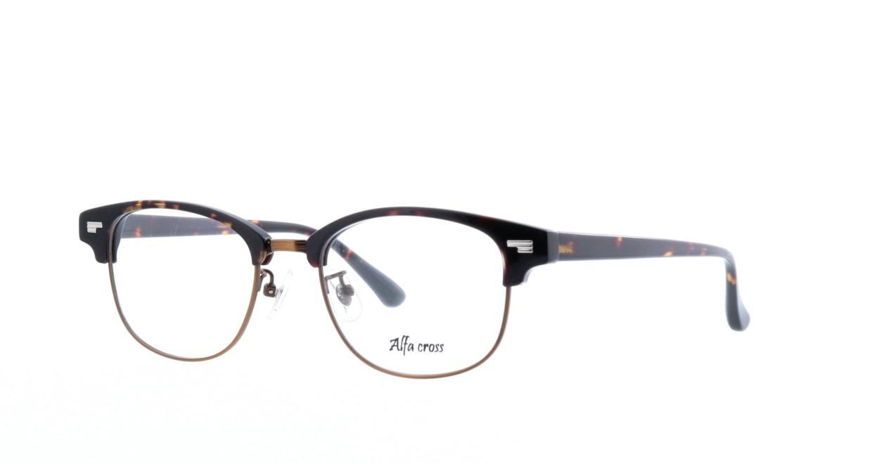 アルファクロス AC-002-2-50 [ウェリントン/安い/べっ甲柄]  1