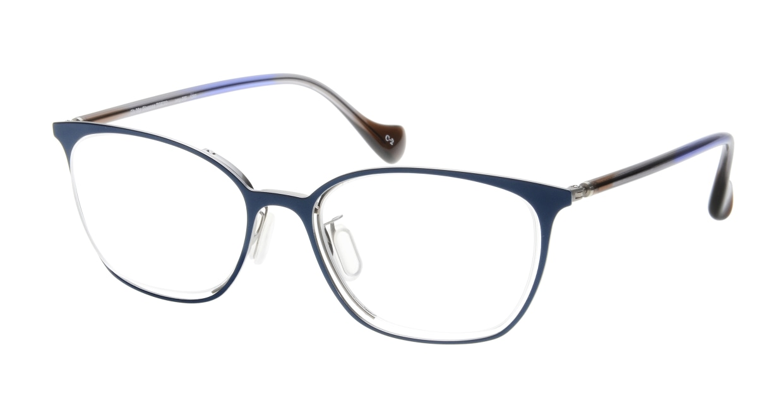 Oh My Glasses TOKYO 1283 omg-095-2 [メタル/鯖江産/ウェリントン/青]
