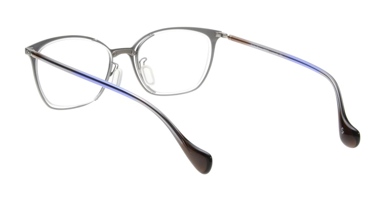 Oh My Glasses TOKYO 1283 omg-095-2 [メタル/鯖江産/ウェリントン/青]  2