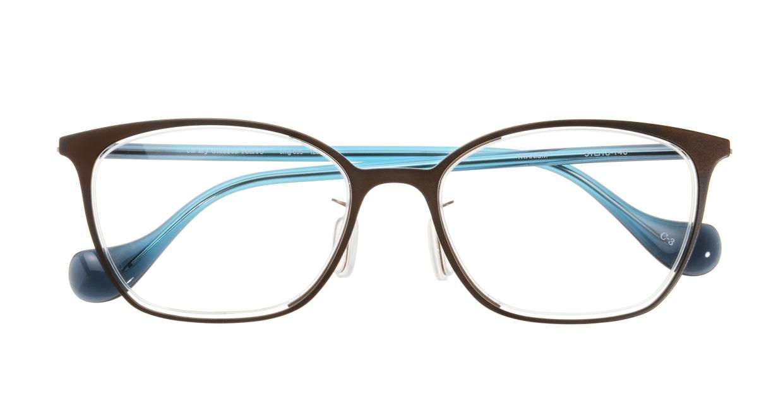 Oh My Glasses TOKYOomg-095-1283-3-51 [メタル/鯖江産/ウェリントン]  3