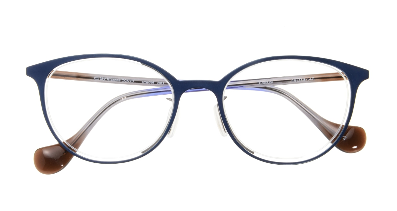 Oh My Glasses TOKYOomg-096-2011-2-49 [メタル/鯖江産/丸メガネ/青]  3