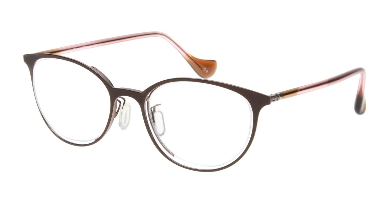 Oh My Glasses TOKYO 2011 omg-096-3 [メタル/鯖江産/丸メガネ/茶色]