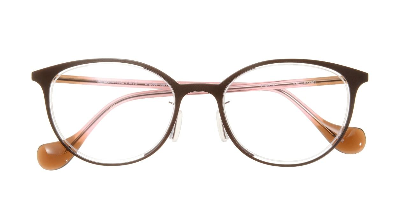 Oh My Glasses TOKYO 2011 omg-096-3 [メタル/鯖江産/丸メガネ/茶色]  3