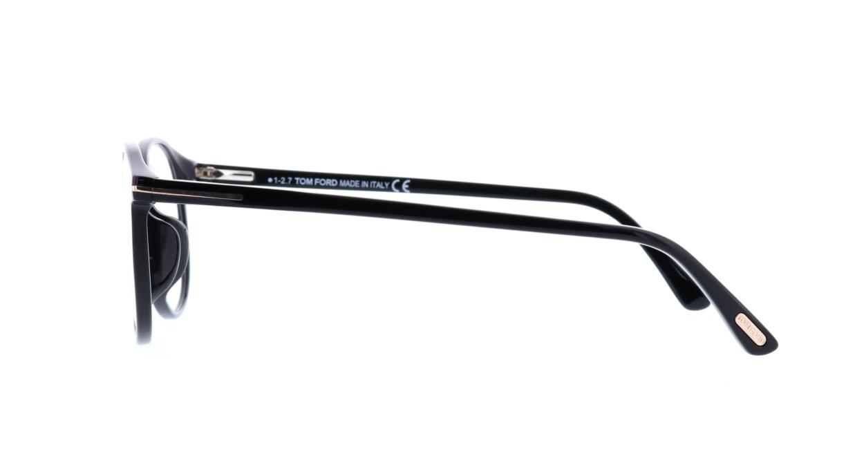 トムフォード FT5294F-001-52 ASIAN FITTING [黒縁/丸メガネ]  2