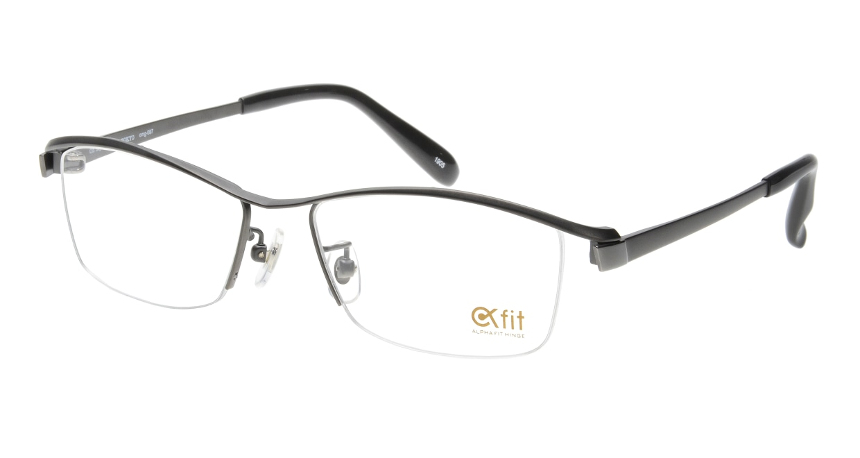 Oh My Glasses TOKYO 1905 omg-097-1 [メタル/鯖江産/ハーフリム/スクエア/グレー]