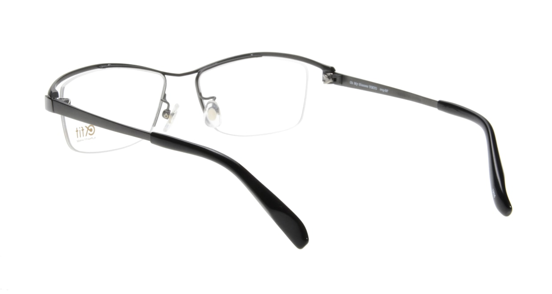 Oh My Glasses TOKYO 1905 omg-097-1 [メタル/鯖江産/ハーフリム/スクエア/グレー]  2