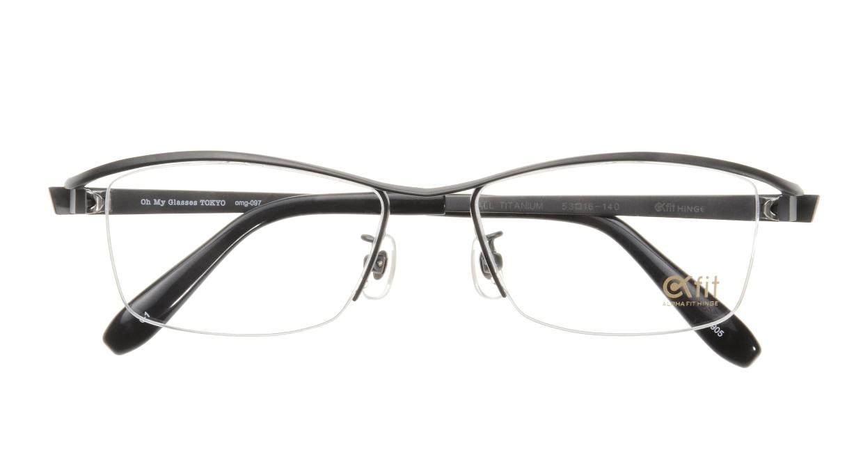 Oh My Glasses TOKYO 1905 omg-097-1 [メタル/鯖江産/ハーフリム/スクエア/グレー]  3