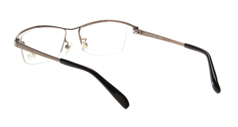Oh My Glasses TOKYO 1905 omg-097-3 [メタル/鯖江産/ハーフリム/スクエア/茶色]  2