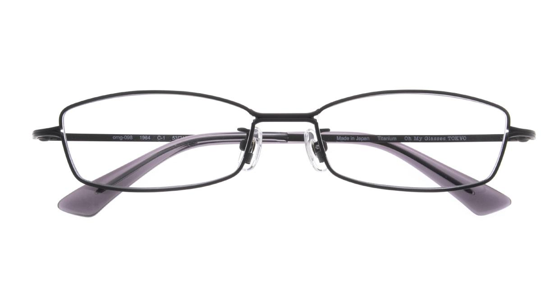 Oh My Glasses TOKYO 1984 omg-098-1 [メタル/鯖江産/スクエア]  4