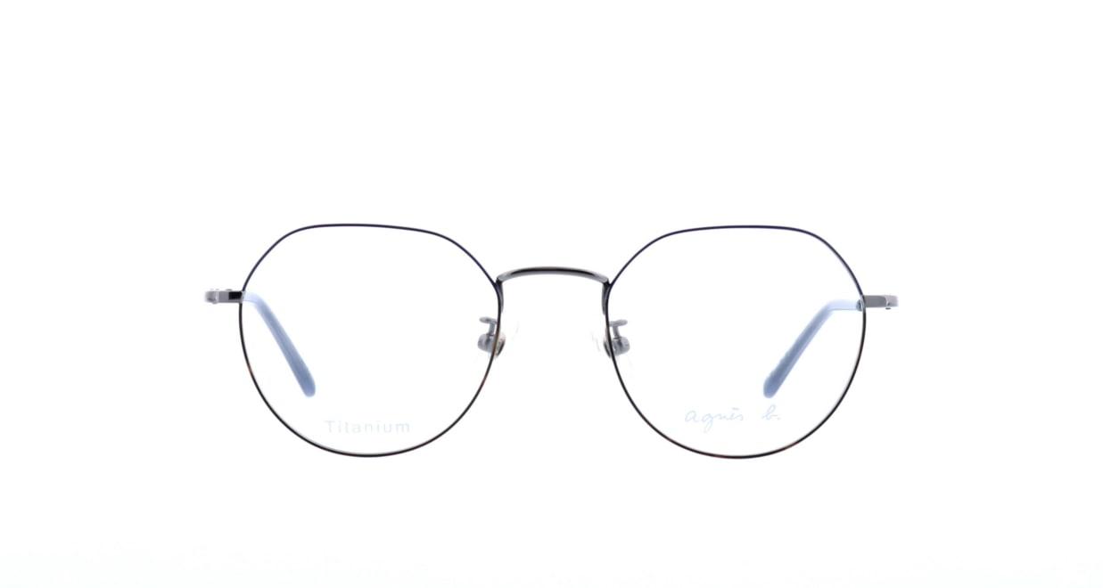アニエスベー 50-9007-04 [メタル/丸メガネ]