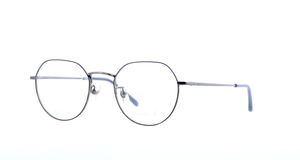 アニエスベー 50-9007-04 [メタル/丸メガネ]  1