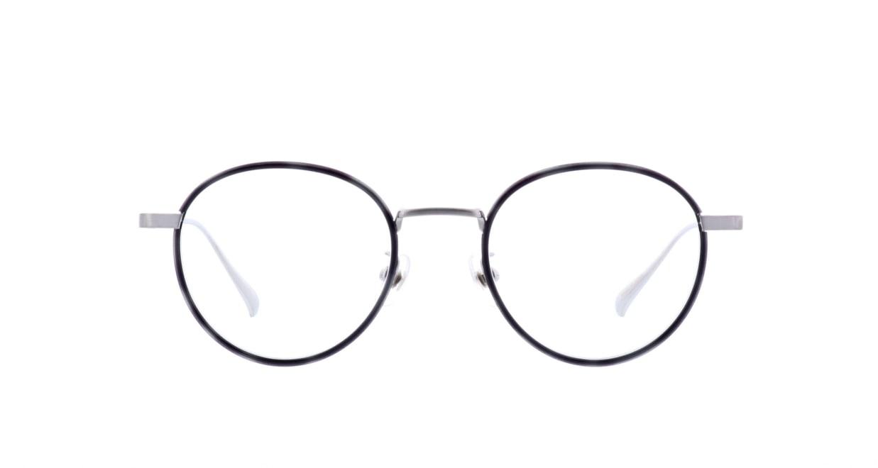 ヴィクター&ロルフ 70-186-04 [黒縁/鯖江産/丸メガネ]