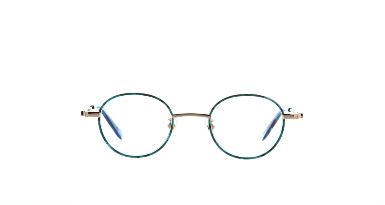 セレクタ 87-0003-04 [メタル/丸メガネ/緑]