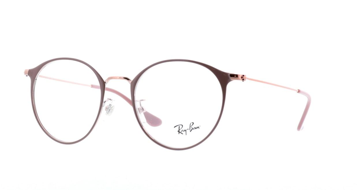 レイバン RX6378F-2973-51 [メタル/丸メガネ/ピンク]  1