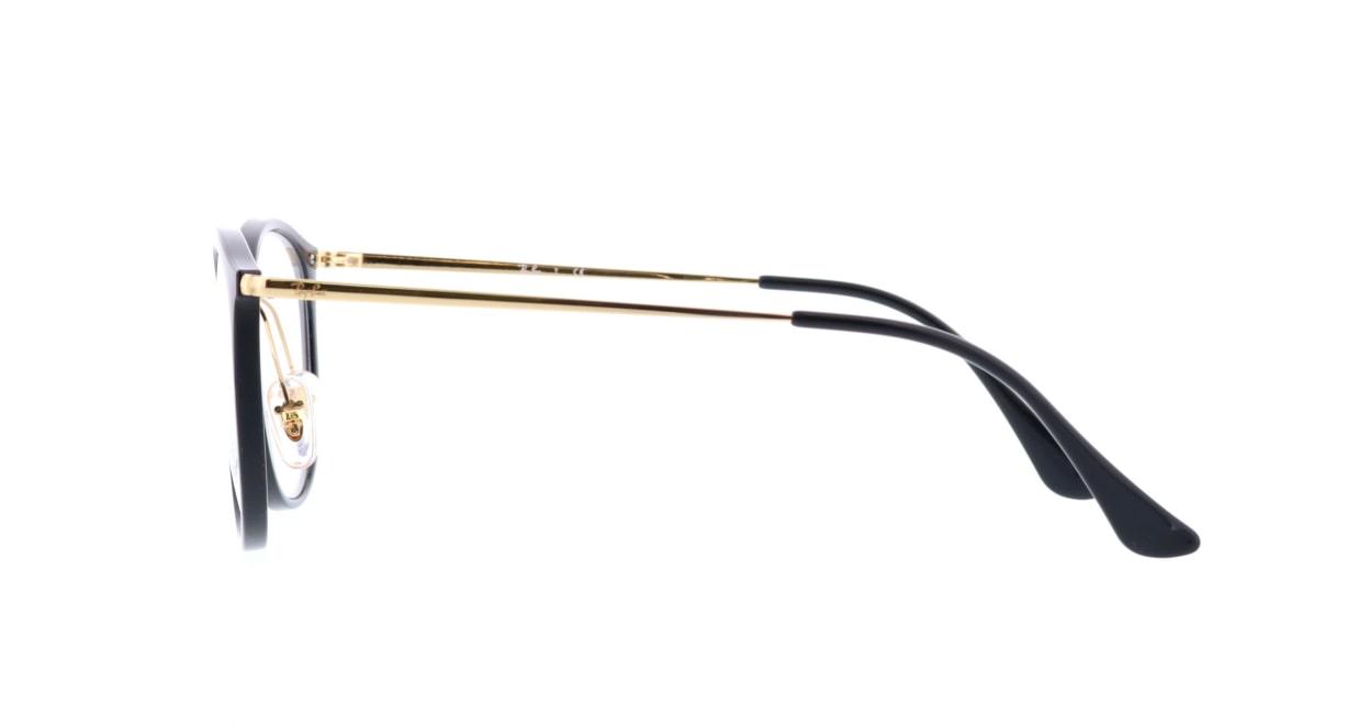 レイバン RX7140-2000-51 [黒縁/丸メガネ]  2