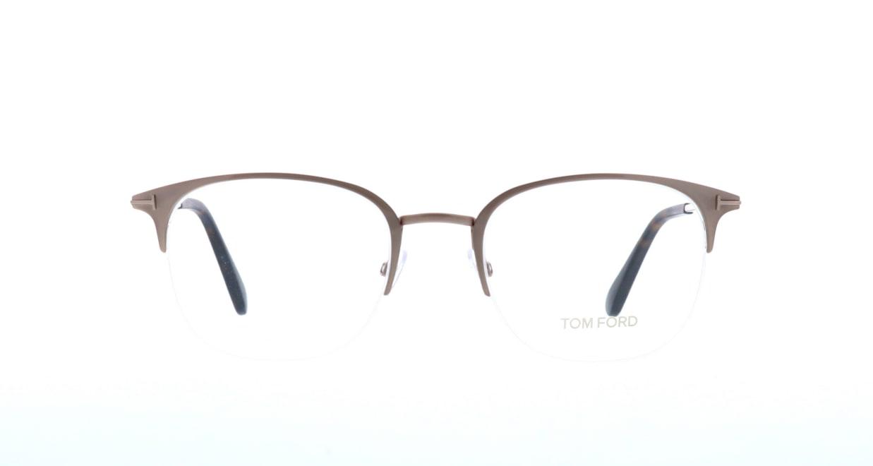 トムフォード FT5452-029-54 [メタル/ハーフリム/ウェリントン/ゴールド]