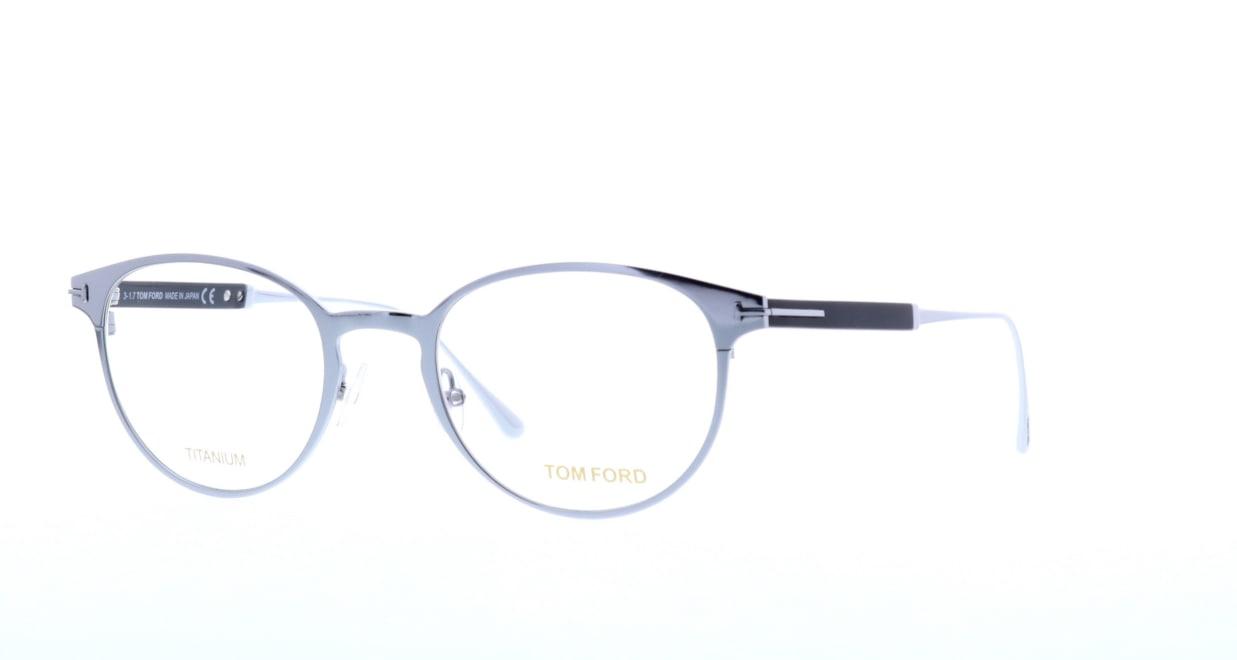 トムフォード FT5482-018-50 [メタル/丸メガネ/シルバー]  1
