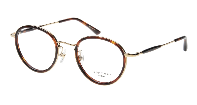 Oh My Glasses TOKYO Spencer omg-094-4-48 [鯖江産/丸メガネ/べっ甲柄]