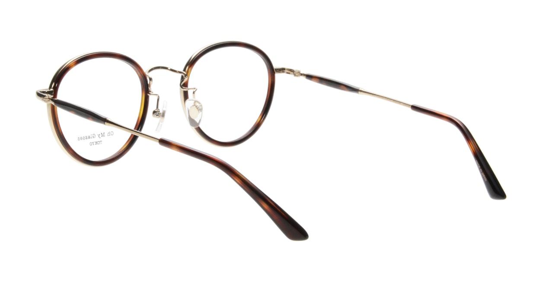 Oh My Glasses TOKYO Spencer omg-094-4-48 [鯖江産/丸メガネ/べっ甲柄]  2