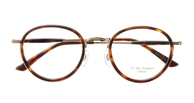 Oh My Glasses TOKYO Spencer omg-094-4-48 [鯖江産/丸メガネ/べっ甲柄]  3