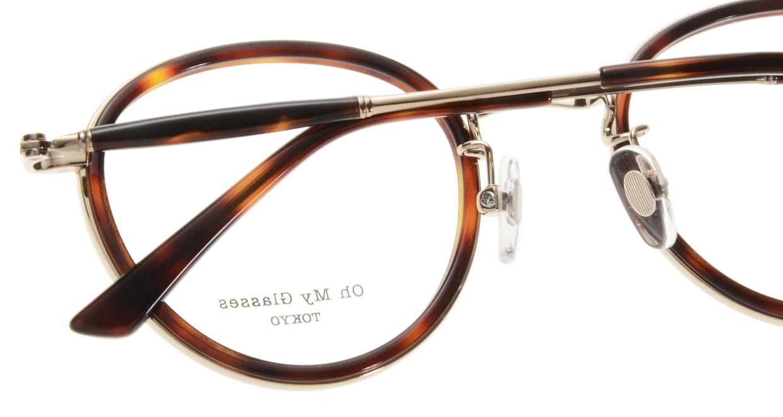 Oh My Glasses TOKYO Spencer omg-094-4-48 [鯖江産/丸メガネ/べっ甲柄]  4