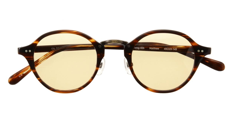 Oh My Glasses TOKYO Matthew omg-026-2-sun [鯖江産/ボストン]  3