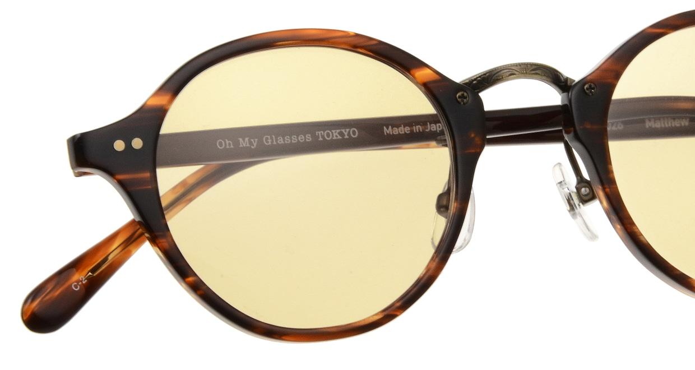 Oh My Glasses TOKYO Matthew omg-026-2-sun [鯖江産/ボストン]  4