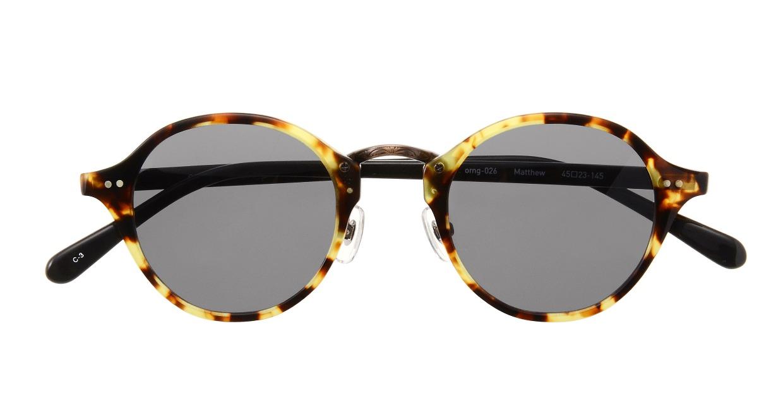 Oh My Glasses TOKYO Matthew omg-026-3-sun [鯖江産/ボストン]  3