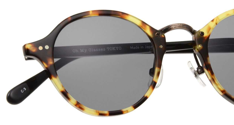 Oh My Glasses TOKYO Matthew omg-026-3-sun [鯖江産/ボストン]  4