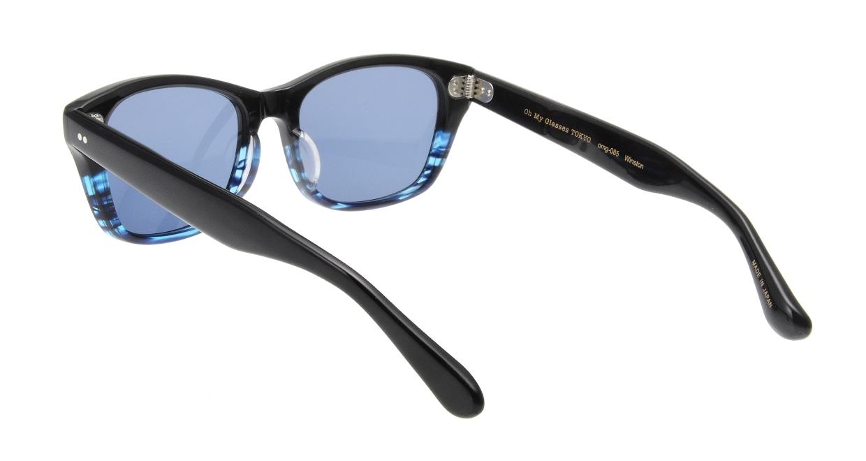 Oh My Glasses TOKYO Winston omg-085-6-52-sun [鯖江産/ウェリントン]  2