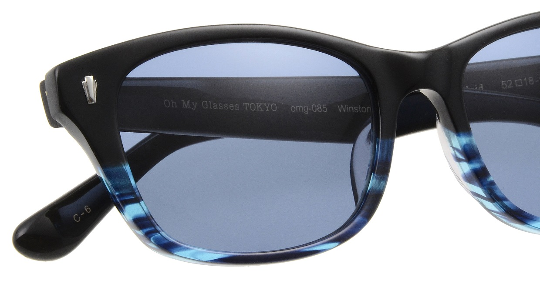 Oh My Glasses TOKYO Winston omg-085-6-52-sun [鯖江産/ウェリントン]  4