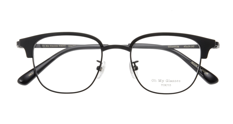 Oh My Glasses TOKYO Mike omg-092-1-47 [メタル/鯖江産/ウェリントン]  3
