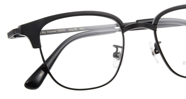 Oh My Glasses TOKYO Mike omg-092-1-47 [メタル/鯖江産/ウェリントン]  4