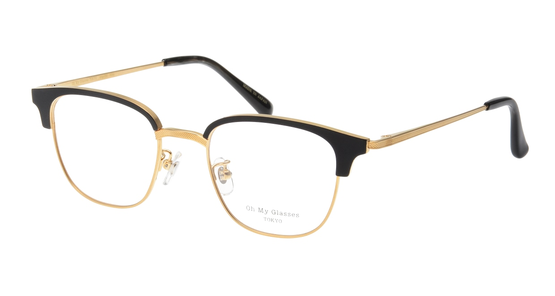 Oh My Glasses TOKYO Mike omg-092-2-47 [メタル/鯖江産/ウェリントン]