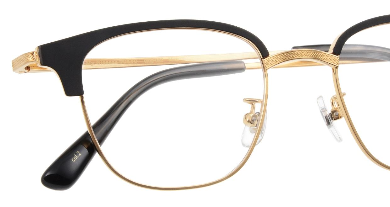 Oh My Glasses TOKYO Mike omg-092-2-47 [メタル/鯖江産/ウェリントン]  4