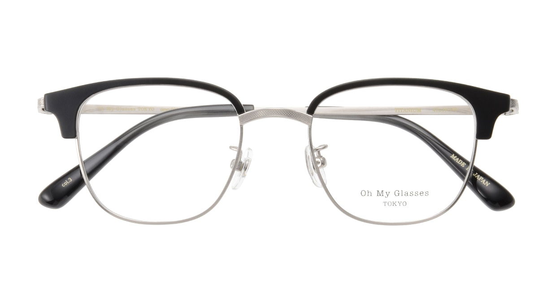 Oh My Glasses TOKYO Mike omg-092-3-47 [メタル/鯖江産/ウェリントン]  3