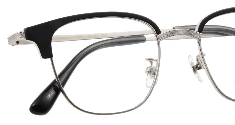Oh My Glasses TOKYO Mike omg-092-3-47 [メタル/鯖江産/ウェリントン]  4