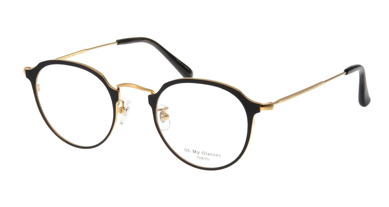 Oh My Glasses TOKYO Zoe omg-093-2-49 [メタル/鯖江産/丸メガネ]