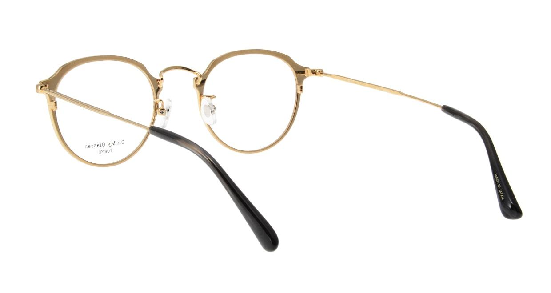 Oh My Glasses TOKYO Zoe omg-093-2-49 [メタル/鯖江産/丸メガネ]  2