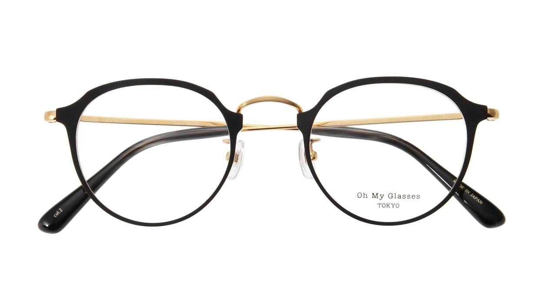 Oh My Glasses TOKYO Zoe omg-093-2-49 [メタル/鯖江産/丸メガネ]  3