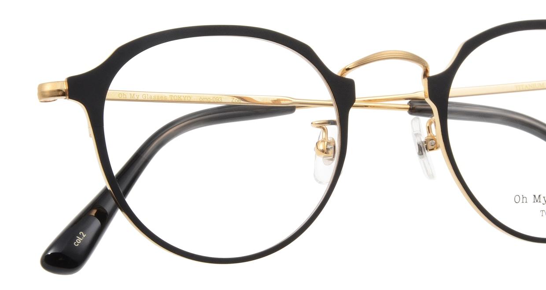 Oh My Glasses TOKYO Zoe omg-093-2-49 [メタル/鯖江産/丸メガネ]  4