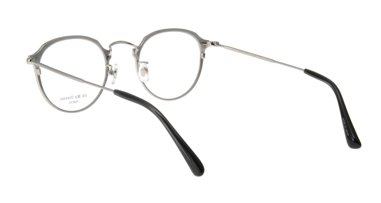 Oh My Glasses TOKYO Zoe omg-093-3-49 [メタル/鯖江産/丸メガネ]  2